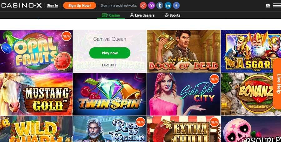 casinoveteran casino-x casino