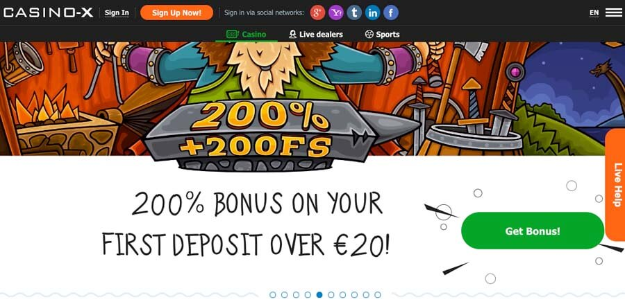 casinoveteran casino-x bonus