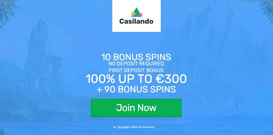 casinoveteran casilando casino bonus