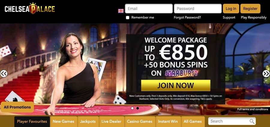 casinoveteran chelsea palace casino bonus