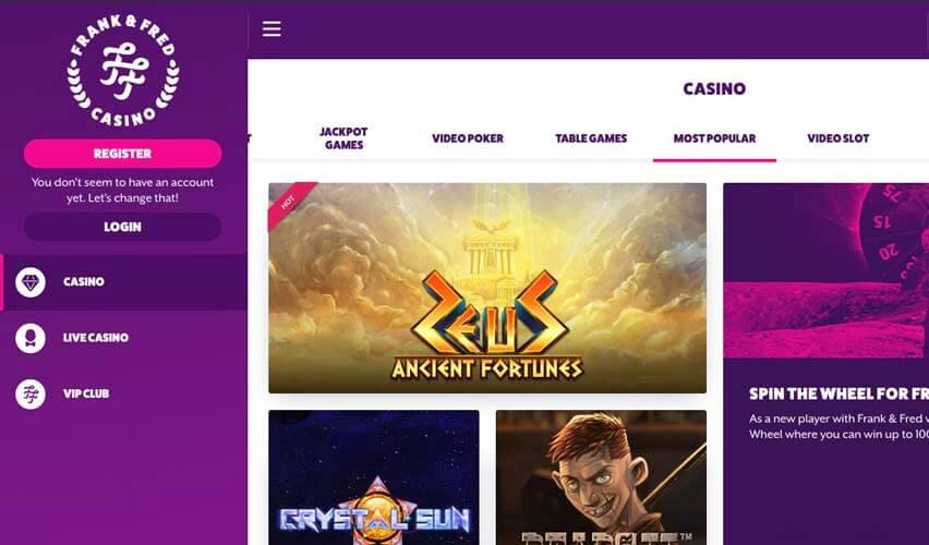 casinoveteran frankfred casino casino