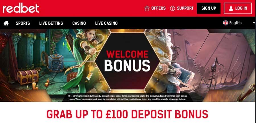 casinoveteran redbet casino bonus