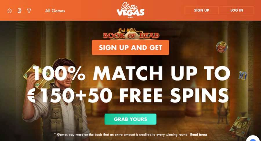 casinoveteran slottyvegas casino bonus
