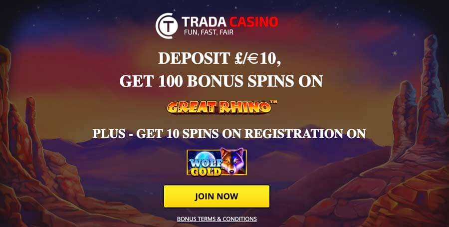 casinoveteran tradacasino bonus