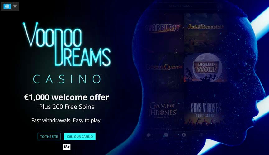casinoveteran voodoodreams casino bonus