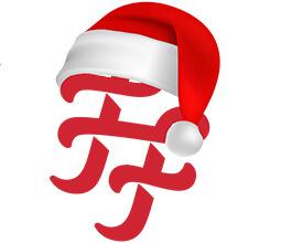 casino veteran Frank-Fred-Christmas-logo