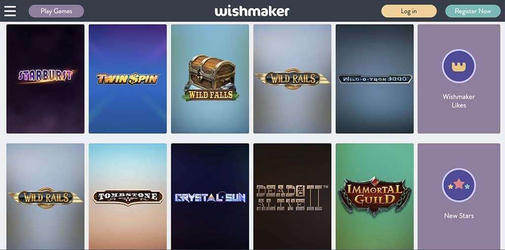 wishmaker casino website