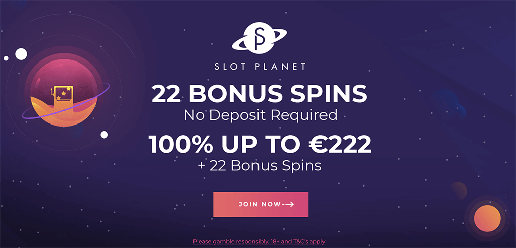 slot planet casino bonus