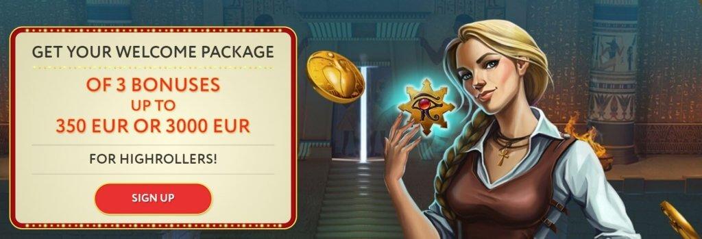 Slot Wolf Casino Welcome Bonus
