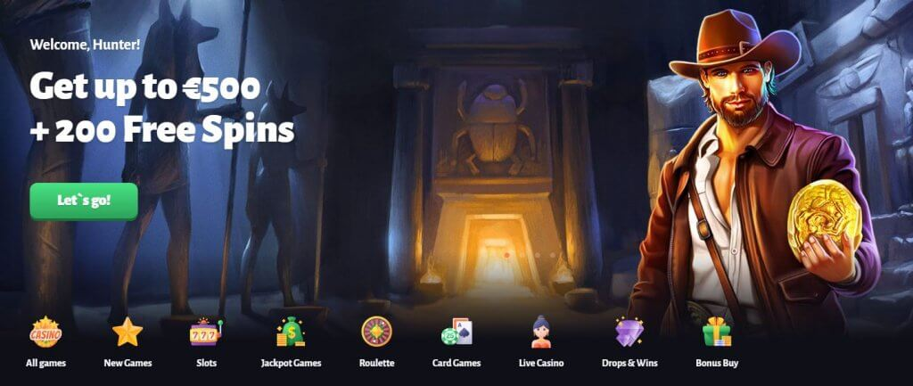 Slothunter Welcome screenshot