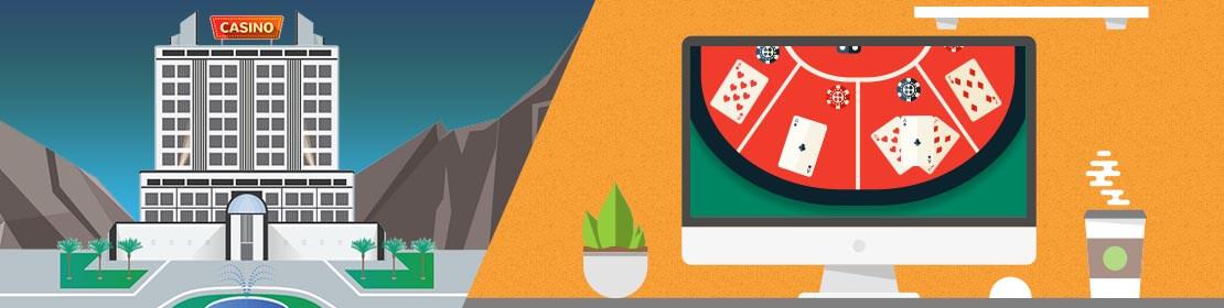 Casinos en línea o casinos físicos