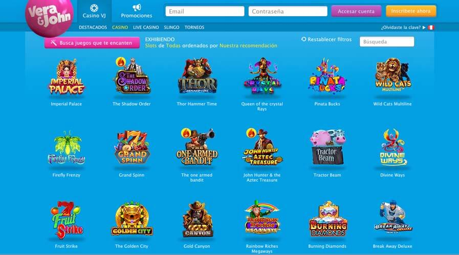 casinoveteran verajohn casino es