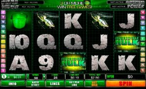 casino veteran incredible-hulk-playtech-slot-machine