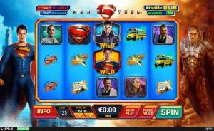 casinoveteran man of steel slots online