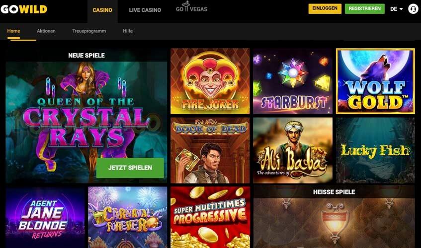 Gowild Casino Verwijderen