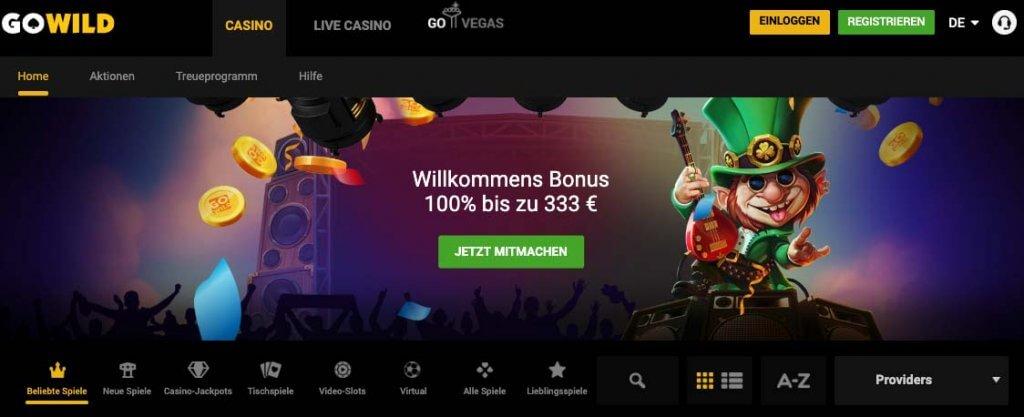 casinoveteran gowild casino bonus