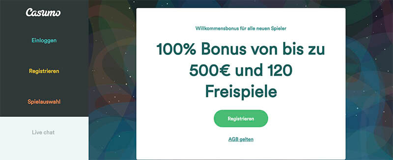 casinoveteran casumo casino bonus