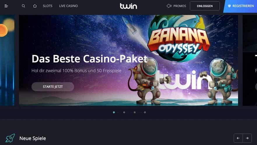 casinoveteran twin casino bonus