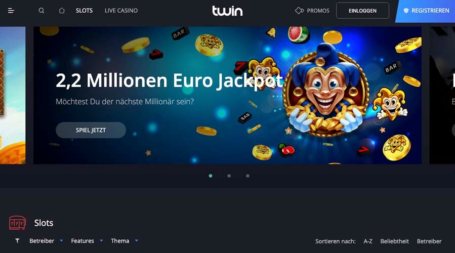 casinoveteran twin casino
