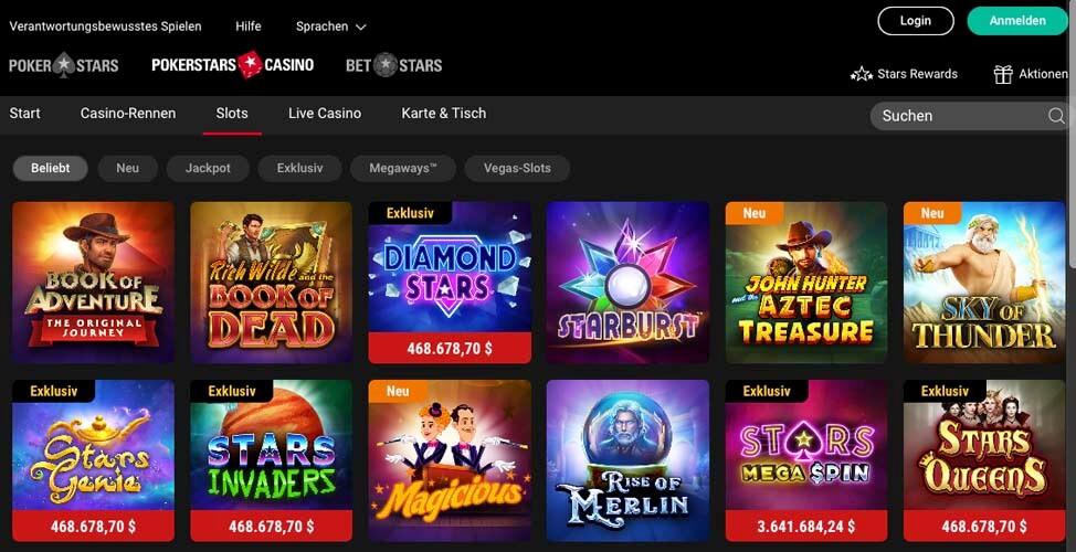 casinoveteran pokerstars casino