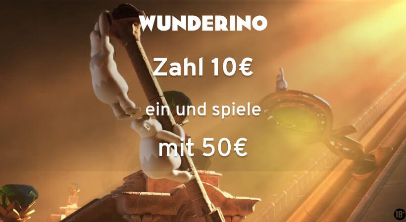 wunderino banner