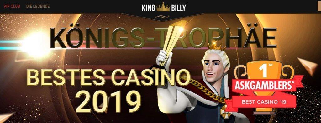 king billy bestes casino award dl