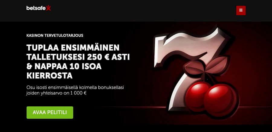 casinoveteran betsafe casino bonus