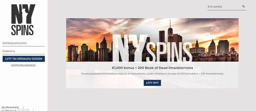 casinoveteran nyspins casino bonus fi