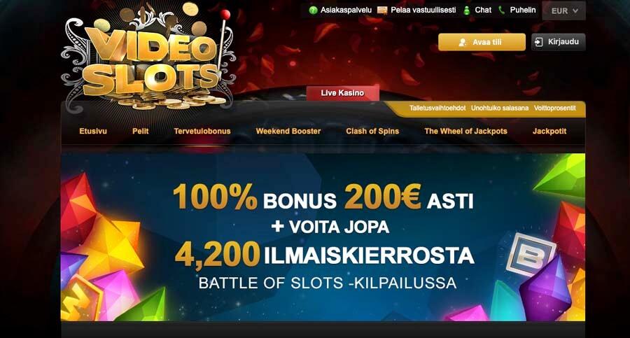 casinoveteran videoslots casino main bonus fi